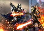 Tarre Vizsla: The First Mandalorian Jedi