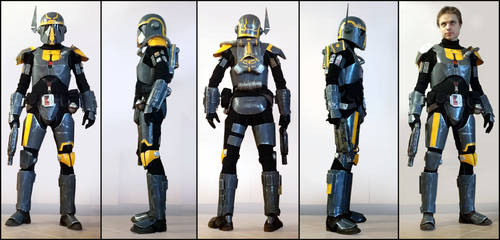 Bounty Hunter Powertech SWTOR