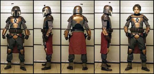 Mandalorian outcast costume by AraxussYexyr