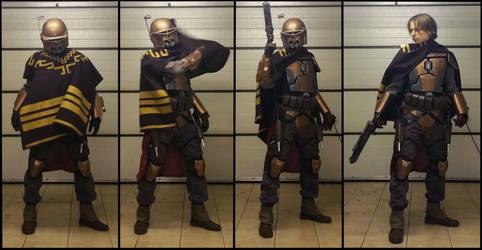 Mandalorian outcast - alternative Hunter set by AraxussYexyr