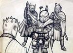 Elite mandalorian warriors