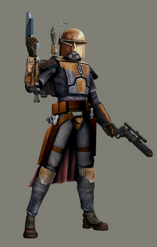 Bounty Hunter Outcast in TCW