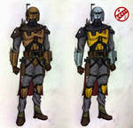 Mandalorian Outcast  3.0 concept by AraxussYexyr