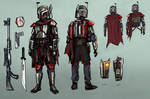 [Commission] - Mandalorian Armor Concept