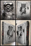 Babu Frik frozen in carbonite 1:1 sculpture by AraxussYexyr