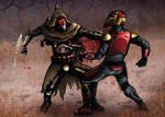 [Commission] Tamas Tal'tor the Shadow Mandalorian