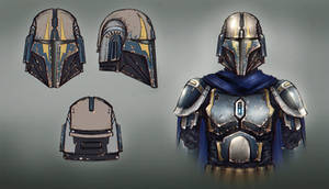 Tarre Vizsla - Helmet