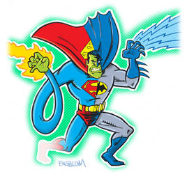 Composite Superman by mengblom