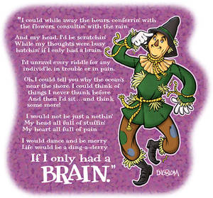 The Scarecrow: If I Only Had a Brain