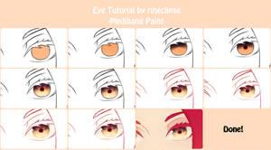 Eye Colour Tutorial Using Medibang