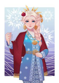 Nusantara Rendition: Elsa