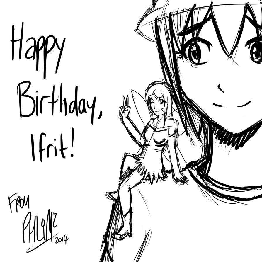 Happy Birthday, Ifrit! (2014) by PHLiM2
