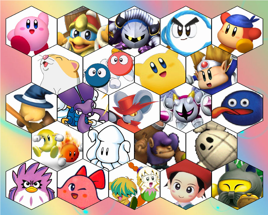 Ssb4 Kirby Series Roster By The Koopa Of Troopa On Deviantart