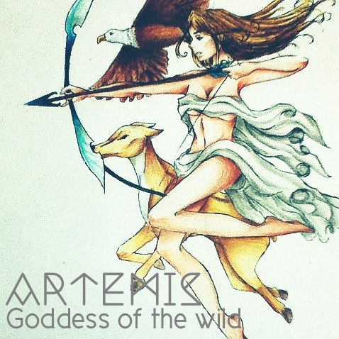 Artemis Goddess Of The Wild By Kanyachan On Deviantart