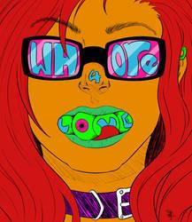 Whore4love by WeirdDayArt