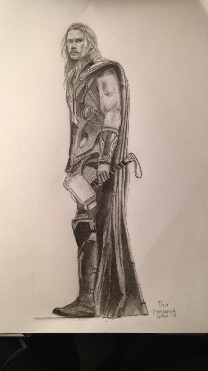 Thor by StefaniaGalli