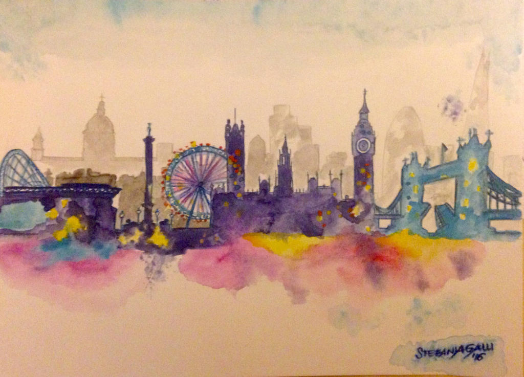London by StefaniaGalli