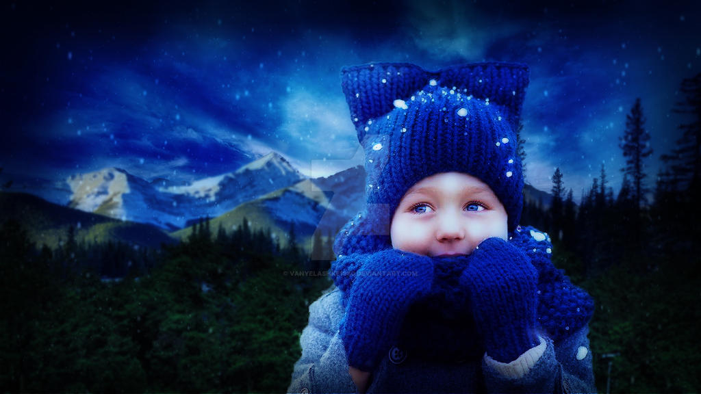 Snow Child Portrait by vanyelashke1980