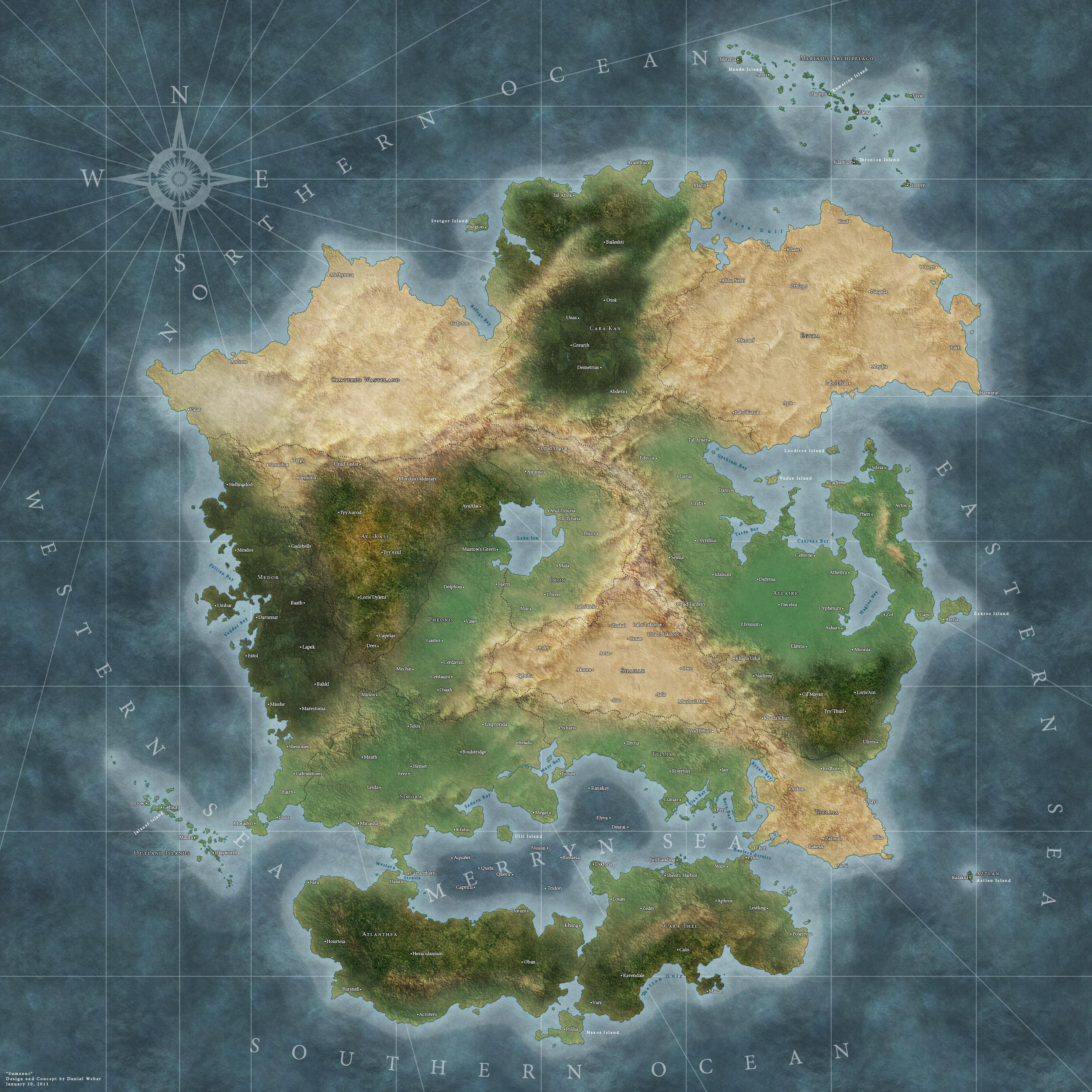 Blank fantasy map - crazywidow.info