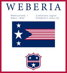 Weberia Micronation by DWebArt