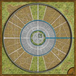 Athenya City Map Redux by DWebArt