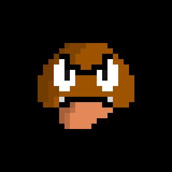 Goomba Sprite Super Mario Bros By Cario24 On Deviantart