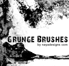 Grunge brush set by NayaDesigns