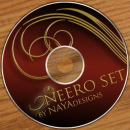 Oneero Swirls brush set by NayaDesigns