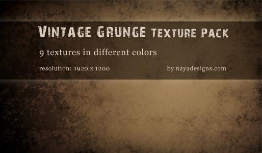 Vintage Grunge Texture Pack by NayaDesigns