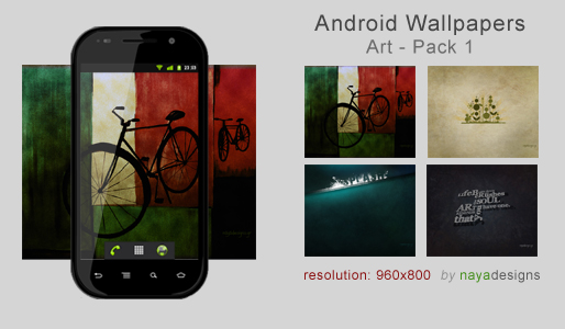Android Wallpapers Art Pack 1 by NayaDesigns