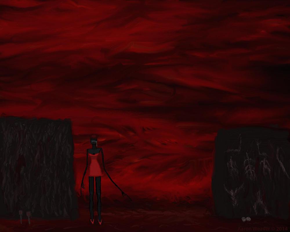 Demoness in Red by sevenofeleven
