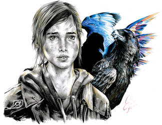 The Last of Us - Cursed by the Crows by Coconut-CocaCola