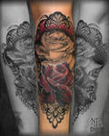 Tattoo Roses Lace by Coconut-CocaCola