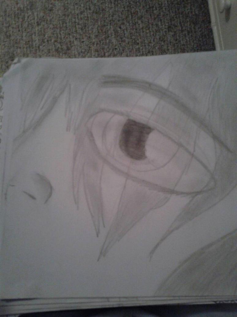 realistic eye 1 by Diamondslender