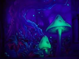 magic mushrooms by TomLenz