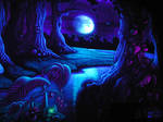 UV enchanted forest
