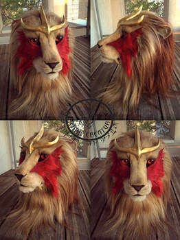 Realistic Entei mask ( FOR SALE )
