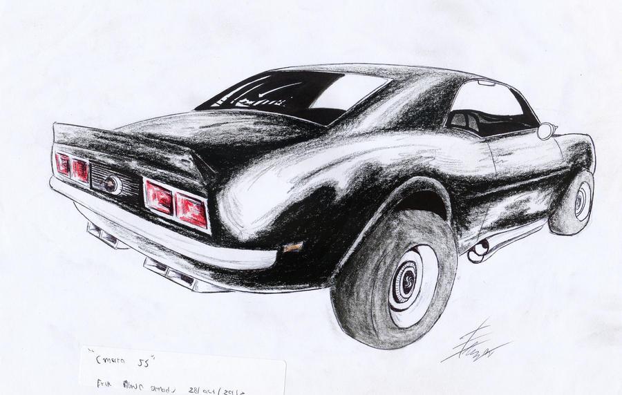 Chevrolet camaro ss 1969 by SamanthaErikArt27