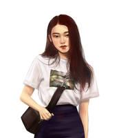 asian girl by NETACOCO