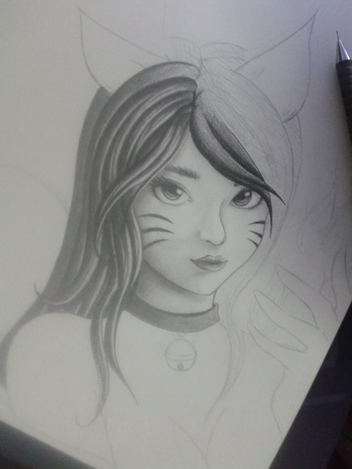 Ahri (My new style) ~ Process by HokinaCosplay