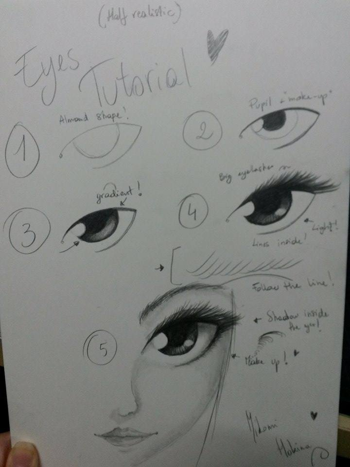 Eye tutorial ~ Miko, how do you do that ? by HokinaCosplay