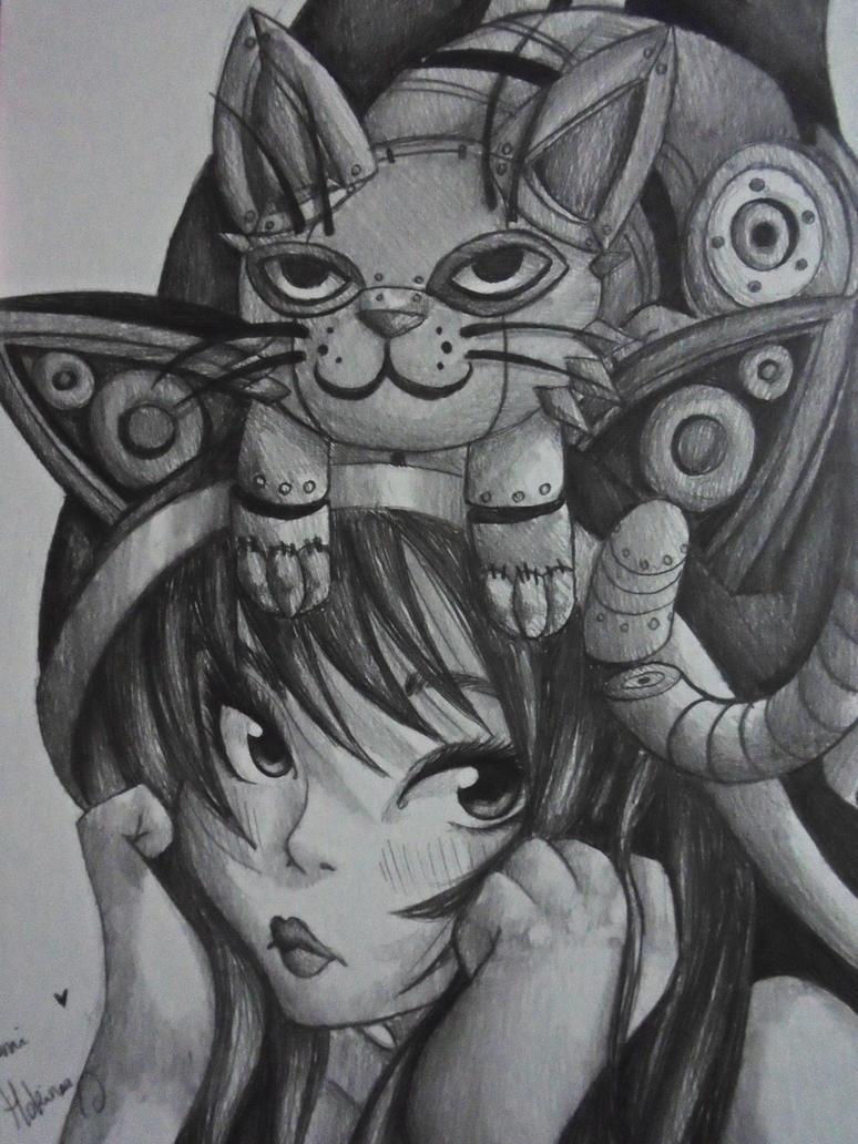 Mecha Neko Lulu ~ by HokinaCosplay