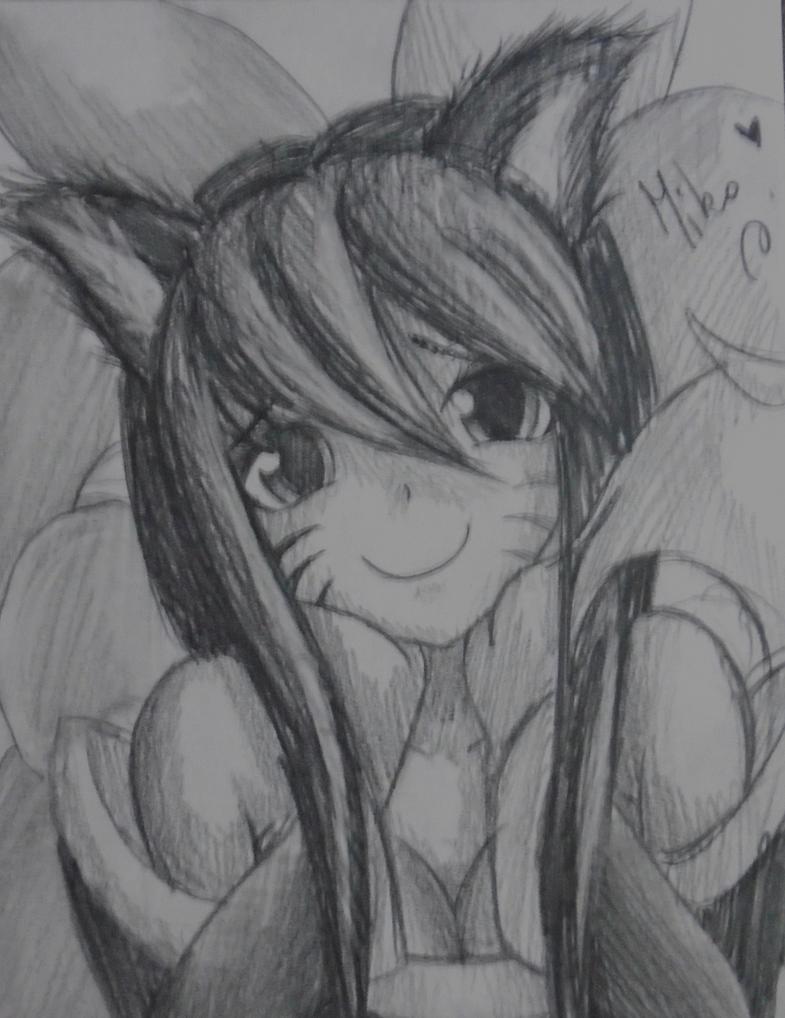 Cute Ahri ~ by HokinaCosplay