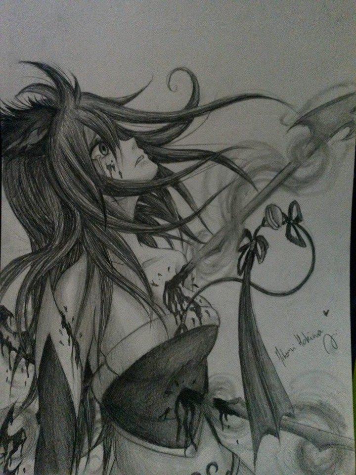 Kalista defeating Ahri ~ by HokinaCosplay