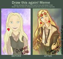 Draw this again! meme - Luna Lovegood by Nikadonna