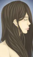 Brunette Girl by BlizzyStorm