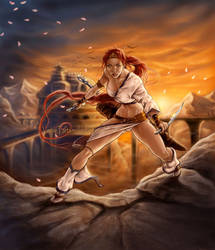 Heavenly Sword by VinRoc
