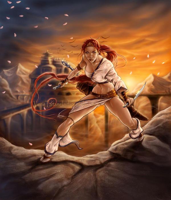 Heavenly Sword by VinRoc
