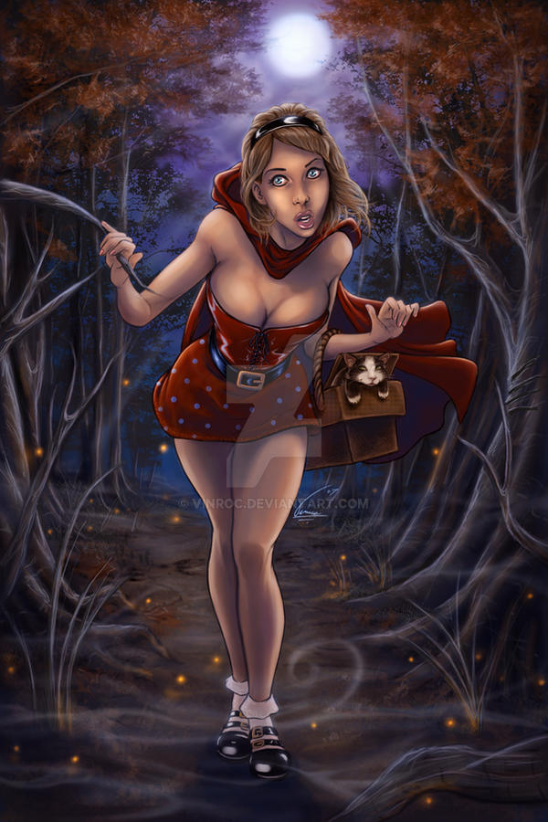 Red riding hood erotic