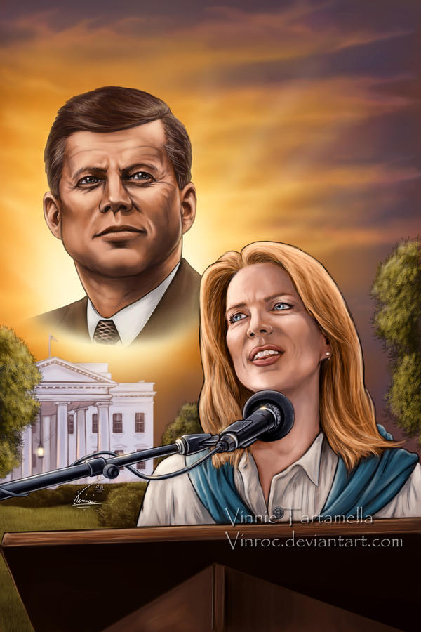 JFK Caroline Kennedy Cover by VinRoc